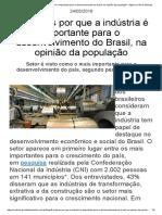 6 motivos por que a indústria é importante para o desenvolvimento do Brasil