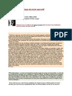 La lecture analytique du texte narratif