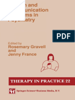 [Therapy in Practice Series] Rosemary Gravell, Jenny France (auth.) - Speech and Communication Problems in Psychiatry (1991, Springer US).pdf