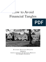 A.I.E.R_How to Avoid Financial Tangles