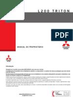 Mitsubishi L200 Triton Manual (2014)