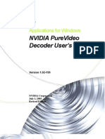 Release Notes PureVideo Decoder 1.02-150