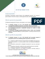CRED Scop_obiective_competente_vizate