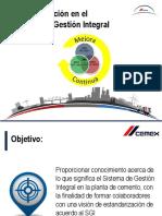 PRESENTACION Concientización Del SGI