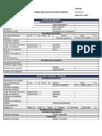 Formulario de Solicitud de Crédito V.420-11-2019