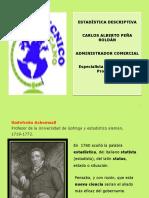 DIAPOSITIVAS HISTORIA DE LA ESTADISTICA