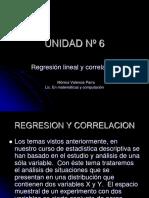 UNIDAD Nº 6 regresion y correlacion