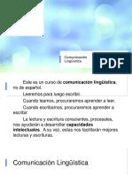 Componentes de la comunicación lingüística