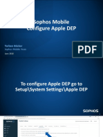 Sophos Mobile Configure Apple DEP - Business Manager