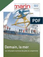 Demain la mer, les 150 projets maritimes des pôles de compétitivité - Le Marin 20080627