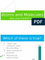 atoms and molecules review
