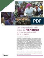 Enabling poor rural people to overcome poverty in Honduras_S