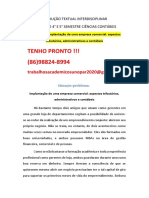 Implantação de Uma Empresa Comercial Aspectos Tributários Administrativos e Contábeis