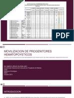 MOVILIZACION DE PROGENITORES