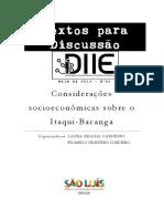 texto_discussao _2014-2_SOCIOECONOMICA_ITAQUI_BACANGA