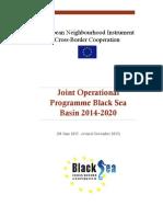 Program Bazinul Marii Negre 2014-2020