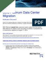 SDC Platinum - Fleet Migration