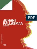 JUHANI PALLASMAA HABITAR.