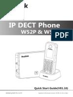 Yealink W52P & W52H Quick Start Guide_V81_10