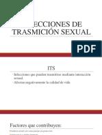 INFECCIONES DE TRASMICIÓN SEXUAL