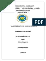 ABANDONO DE PERSONAS