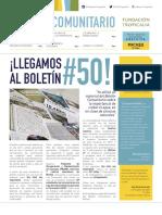 Boletín Comunitario 50