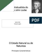 teoria contratualista de john locke