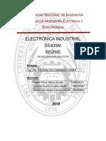 INFORME TRABAJO ELECTRONICA INDUSTRIAL