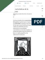 Características de la poesía _ Poemas del Alma