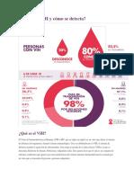 Qué es el VIH y cómo se detecta