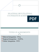 Bilateral Multilateral Agreements