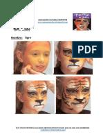 3 maquillaje tigre
