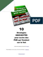 10 Strategies gagnantes pour ecrire des pubs qui vendent.pdf
