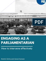Engaging as a Parliamentarian - How to intervene effectively