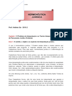 Hermenêutica - aulas