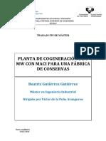 COGENERACION CON MOTORES DE COMBUSTION INTERNA