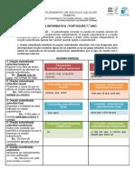 Ficha informativa _ subordinação