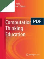 2019 - Kong & Abelson - Book - ComputationalThinkingEducation