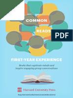 Common Reads