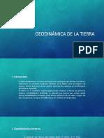 GEODINÁMICA DE LA TIERRA