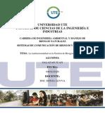 Informe Individual sobre la institucionalizad en la Gestión de Riesgos en Ecuador.docx