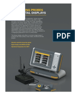 Measuring Probes and Digital Display
