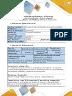 Guía de actividades y rúbrica de evaluación - Fase 2 - Escribir un texto periodístico literario