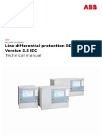1MRK505377-UEN E en Technical Manual Line Differential Protection RED670 Version 2.2 IEC