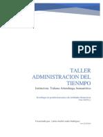 Actividad ADMINISTRACION DEL TIEMPO