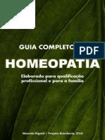 GUIA COMPLETO DE  HOMEOPATIA