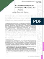MITIFICACION Y DESMITIFICACION DE LAS INDEPENDENCIAS BOLIVAR Y SAN MARTIN