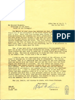 Papers Sent to a Neophyte (1957)