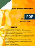 Depresia Si Suicidul in Adolescent A