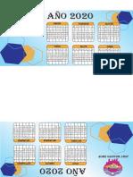 calendario triangular